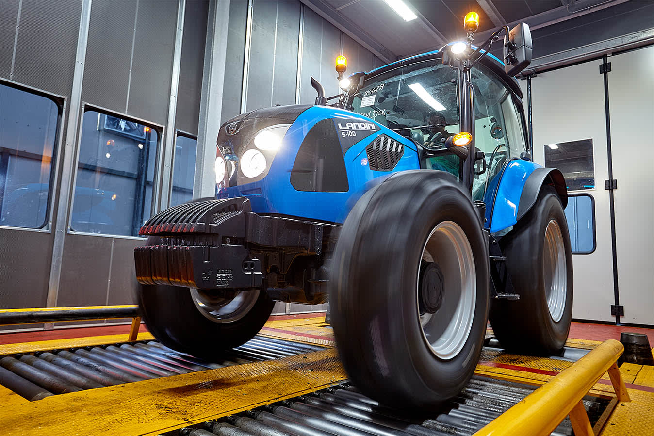 Collaudo trattori Argo Tractors