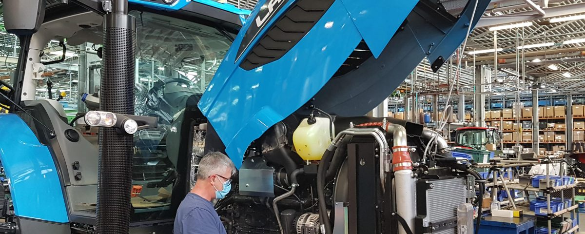 Reopening Argo Tractors plants
