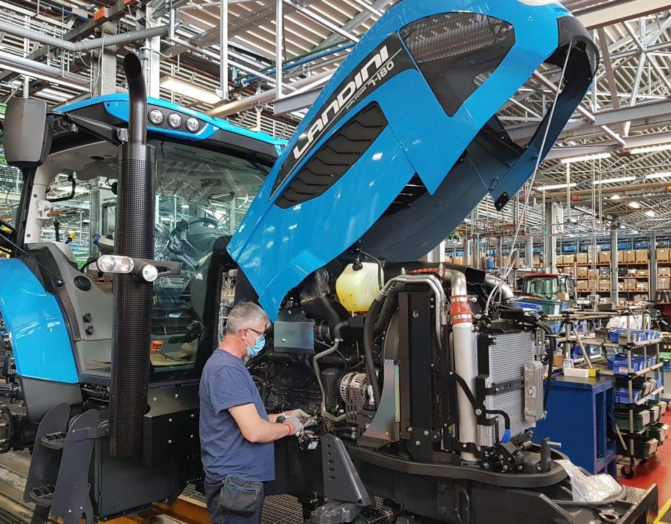 Argo Tractors arranca motores - comenzará de nuevo la producción