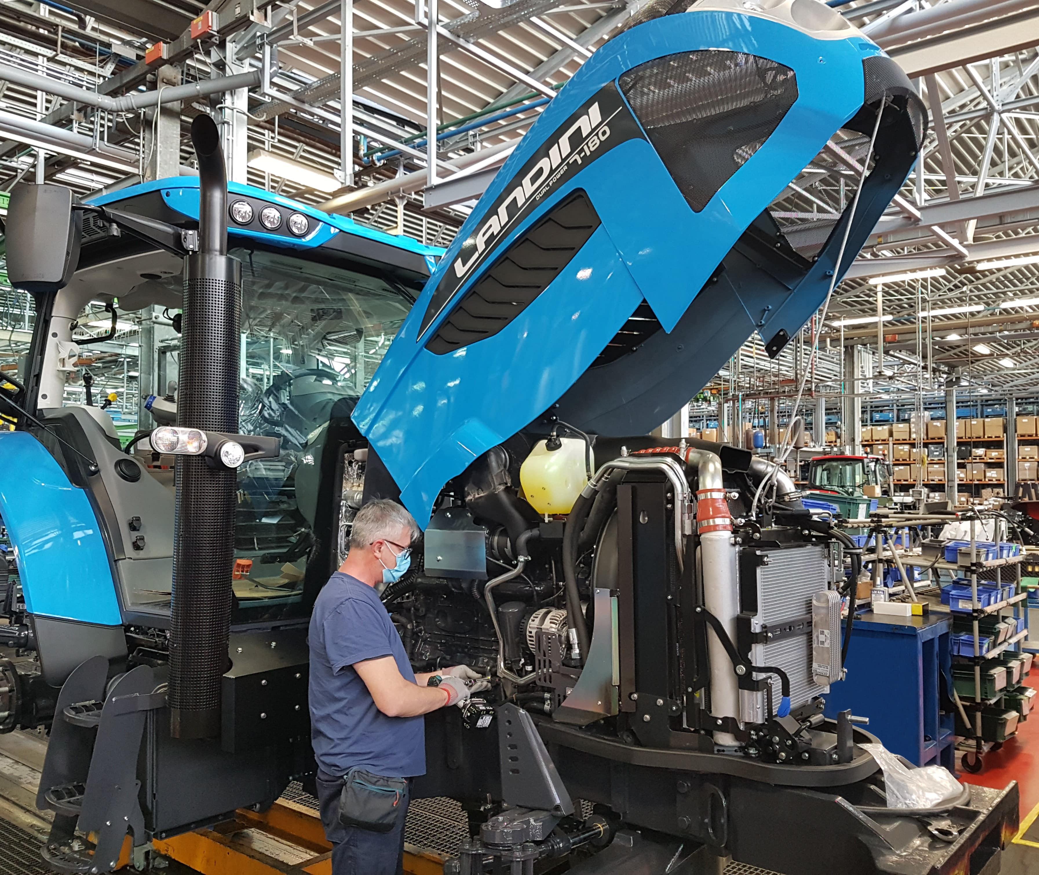 Ripresa attività e riapertura stabilimenti Argo Tractors