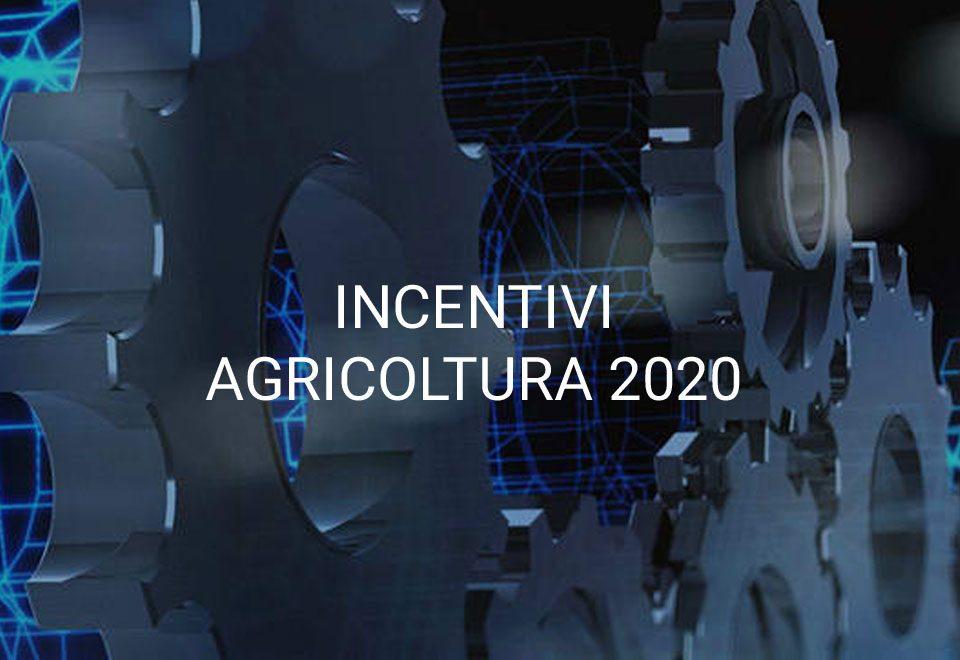 agevolazioni 2020 tecnologia per l'agricoltura