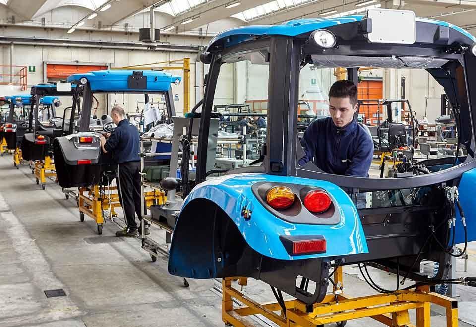 produzione cabine Argo Tractors